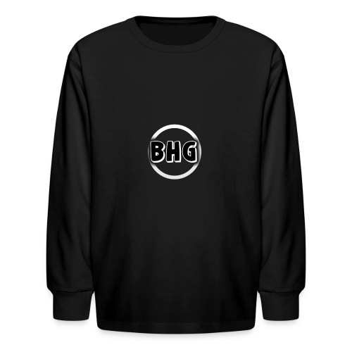 My YouTube logo with a transparent background - Kids' Long Sleeve T-Shirt