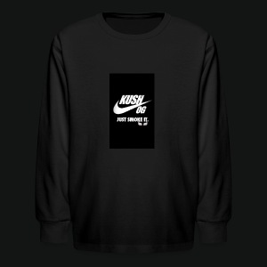 Screenshot_2017-01-07-20-09-58 - Kids' Long Sleeve T-Shirt