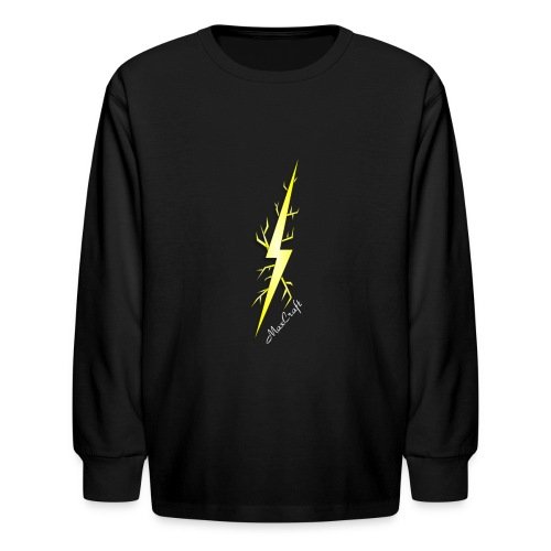Long Sleeve Tee (Lightning Bolt Logo Line) - Kids' Long Sleeve T-Shirt