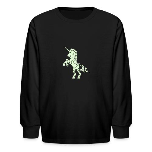 robicorn - Kids' Long Sleeve T-Shirt