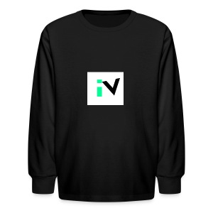 Isaac Velarde merch - Kids' Long Sleeve T-Shirt