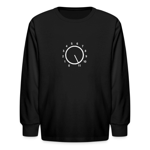 volume knob - Kids' Long Sleeve T-Shirt