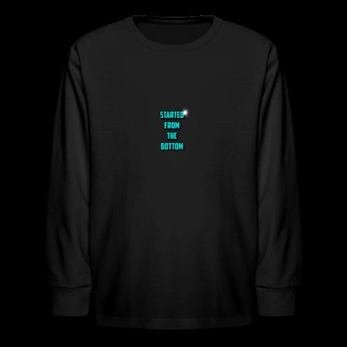 new merch - Kids' Long Sleeve T-Shirt