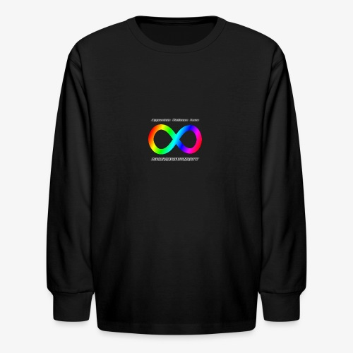 Embrace Neurodiversity - Kids' Long Sleeve T-Shirt