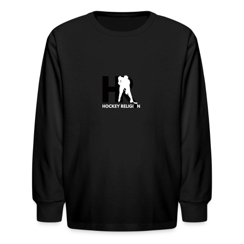 Hockey Religion - Kids' Long Sleeve T-Shirt