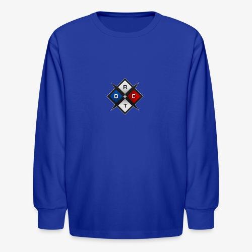 RTQC Logo - Kids' Long Sleeve T-Shirt