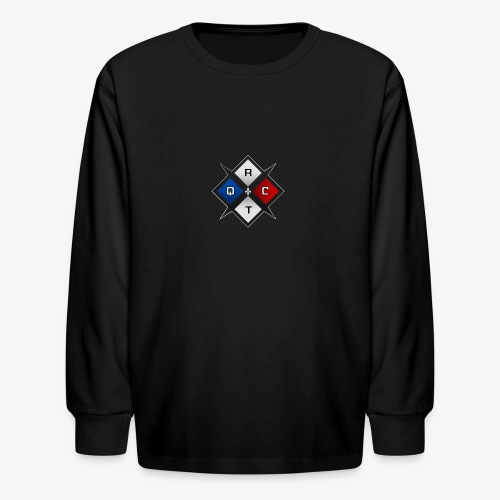 RTQC Logo - Kids' Long Sleeve T-Shirt
