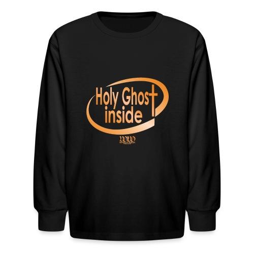 ***12% Rebate - See details!*** Holy Ghost Inside - Kids' Long Sleeve T-Shirt