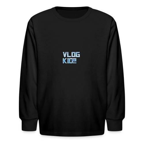 Vlog Kid - Kids' Long Sleeve T-Shirt