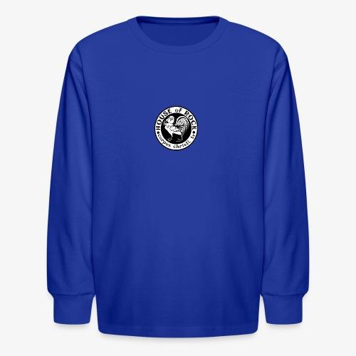 House of Rock round logo - Kids' Long Sleeve T-Shirt