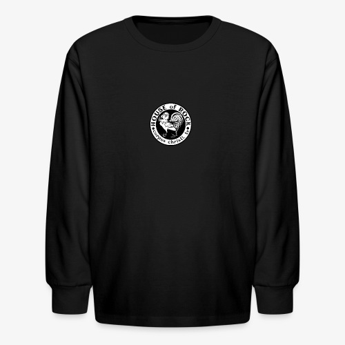 House of Rock round logo - Kids' Long Sleeve T-Shirt