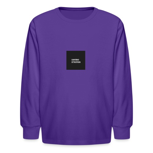 Gaming XtremBr shirt and acesories - Kids' Long Sleeve T-Shirt