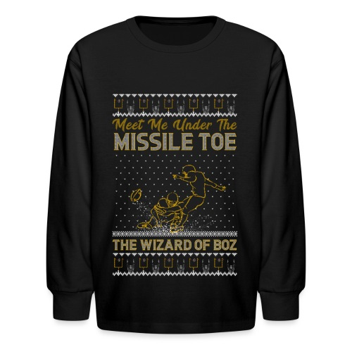 2018_missile toe - Kids' Long Sleeve T-Shirt