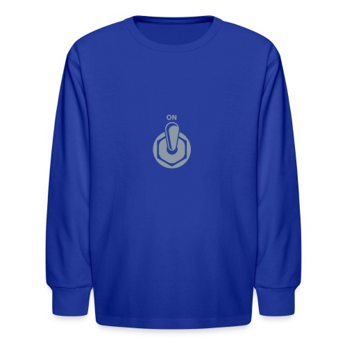 on switch - Kids' Long Sleeve T-Shirt