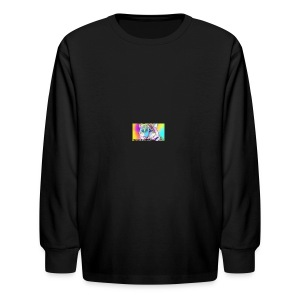 Rainbow Tiger Design Cases - Kids' Long Sleeve T-Shirt