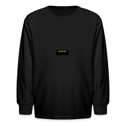 Screenshot 2018 02 11 at 9 38 09 PM - Kids' Long Sleeve T-Shirt