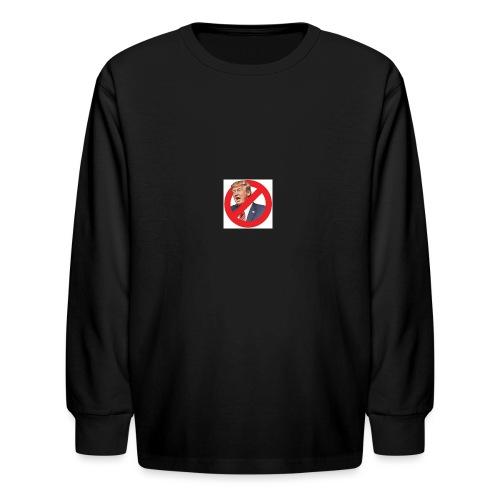 blog stop trump - Kids' Long Sleeve T-Shirt