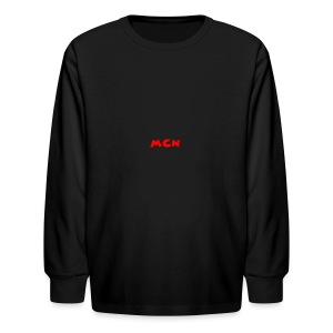 MCN Logo - Kids' Long Sleeve T-Shirt