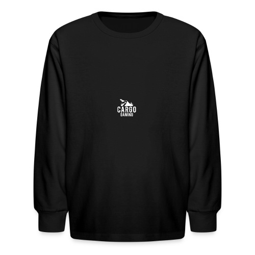 Cargo Gaming White Logo - Kids' Long Sleeve T-Shirt