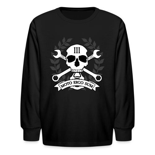 Moto Ergo Sum - Kids' Long Sleeve T-Shirt