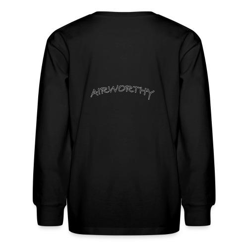Airworthy T-Shirt Treasure - Kids' Long Sleeve T-Shirt