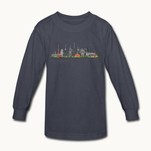 WORLD - MY PLAYGROUND - Carolyn Sandstrom - Kids' Long Sleeve T-Shirt