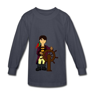 Alex the Great - Pirate - Kids' Long Sleeve T-Shirt