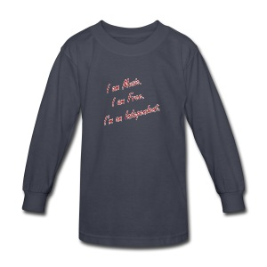 Independent Artist Gear - Kids' Long Sleeve T-Shirt