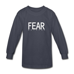 FEAR_NOTHING - Kids' Long Sleeve T-Shirt