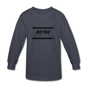 Retro Modules - Kids' Long Sleeve T-Shirt