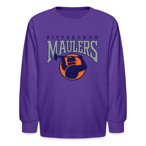 Maulers1 - Kids' Long Sleeve T-Shirt