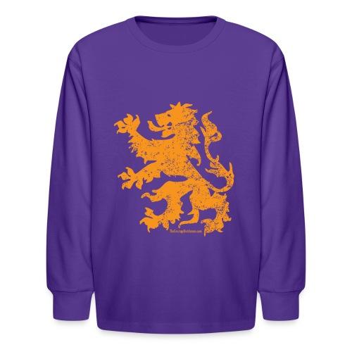 Dutch Lion - Kids' Long Sleeve T-Shirt