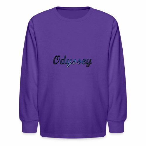 Galaxy Odyssey - Kids' Long Sleeve T-Shirt