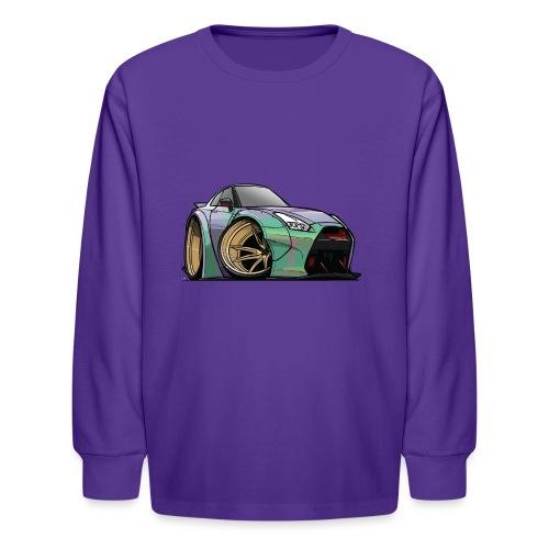 R35 GTR - Kids' Long Sleeve T-Shirt