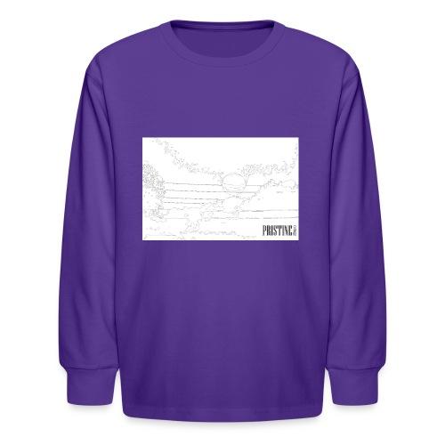 SunLines - Kids' Long Sleeve T-Shirt