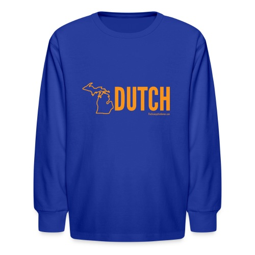 Michigan Dutch (orange) - Kids' Long Sleeve T-Shirt