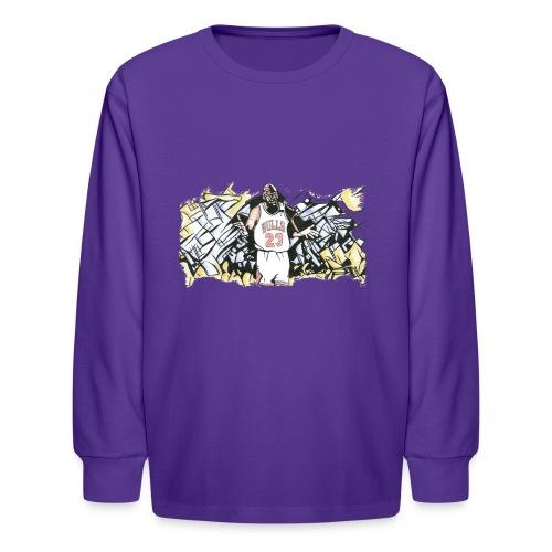 MJ - Kids' Long Sleeve T-Shirt