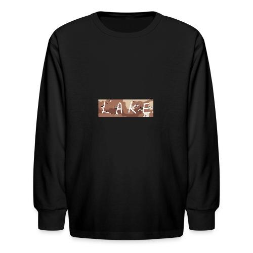 LAKE_LOGO2 - Kids' Long Sleeve T-Shirt