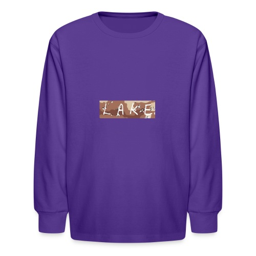 LAKE_LOGO2 - Kids' Long Sleeve T-Shirt