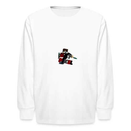 Batpixel Merch - Kids' Long Sleeve T-Shirt