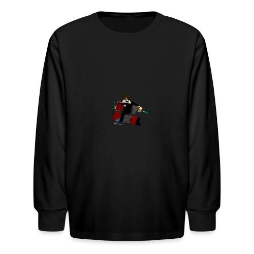 Batpixel Merch - Kids' Long Sleeve T-Shirt