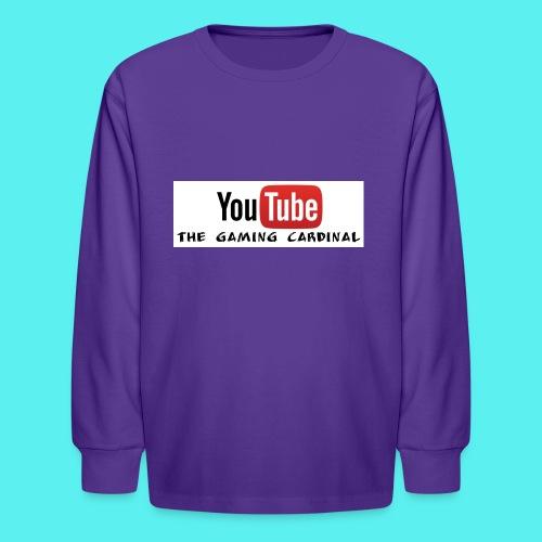 Youtube temp logo - Kids' Long Sleeve T-Shirt