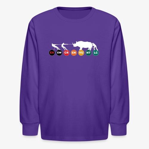 The way of the dodo II - WD - Kids' Long Sleeve T-Shirt
