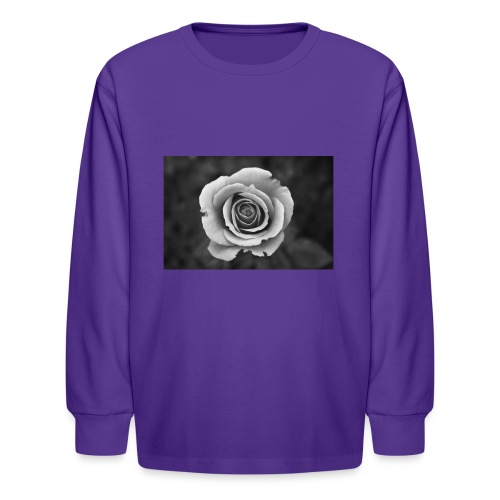 dark rose - Kids' Long Sleeve T-Shirt