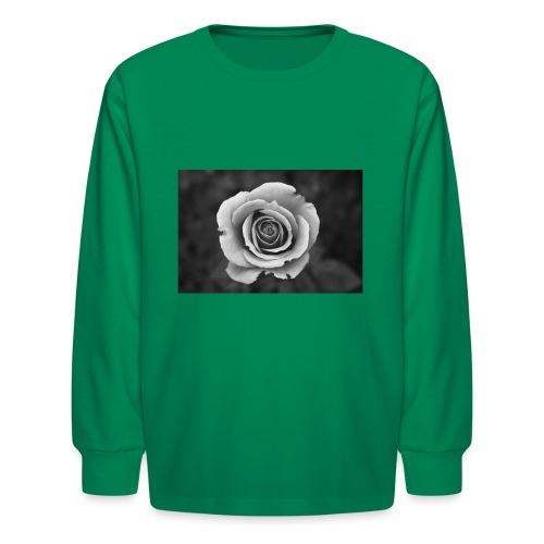 dark rose - Kids' Long Sleeve T-Shirt