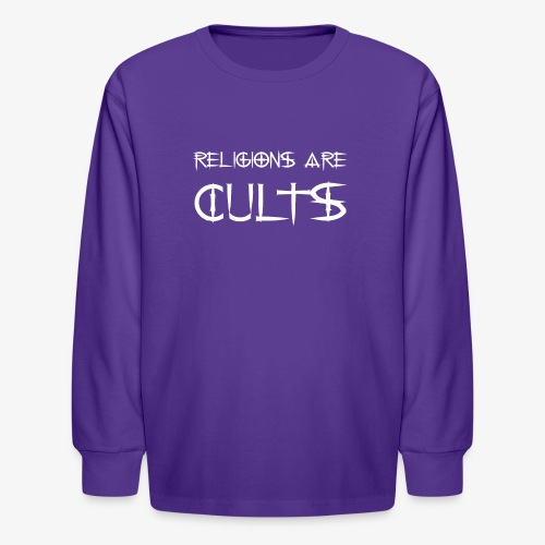 cults - Kids' Long Sleeve T-Shirt