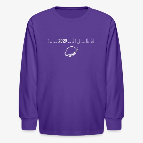 2020 inv - Kids' Long Sleeve T-Shirt