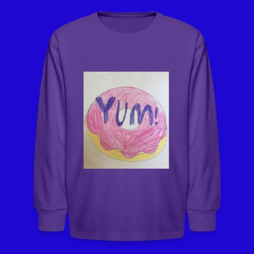 Yum! - Kids' Long Sleeve T-Shirt