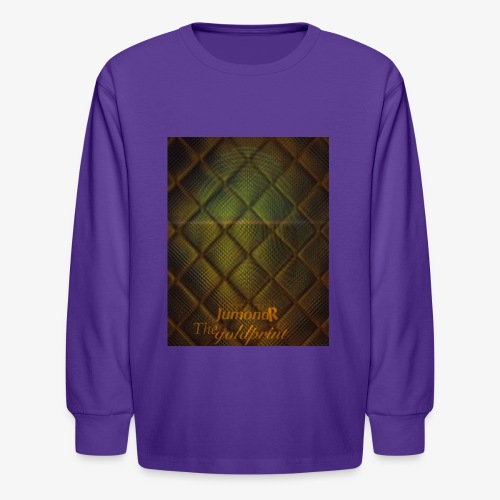 JumondR The goldprint - Kids' Long Sleeve T-Shirt