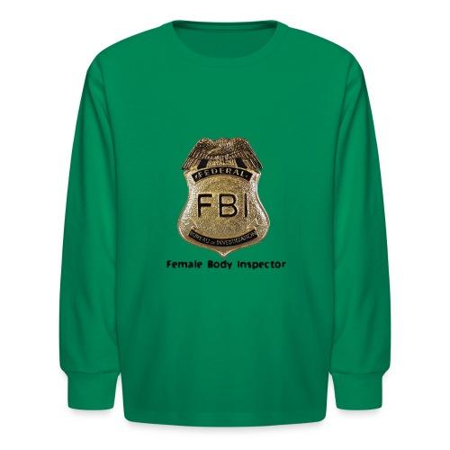 FBI Acronym - Kids' Long Sleeve T-Shirt